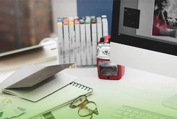 graphic designer carlow desk