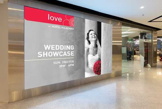 Kilkenny shopping centre poster design